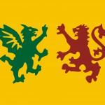 Reconstruçom das armas suevas do antigo Reino da Galiza. Descarregar PDF vectorial.
