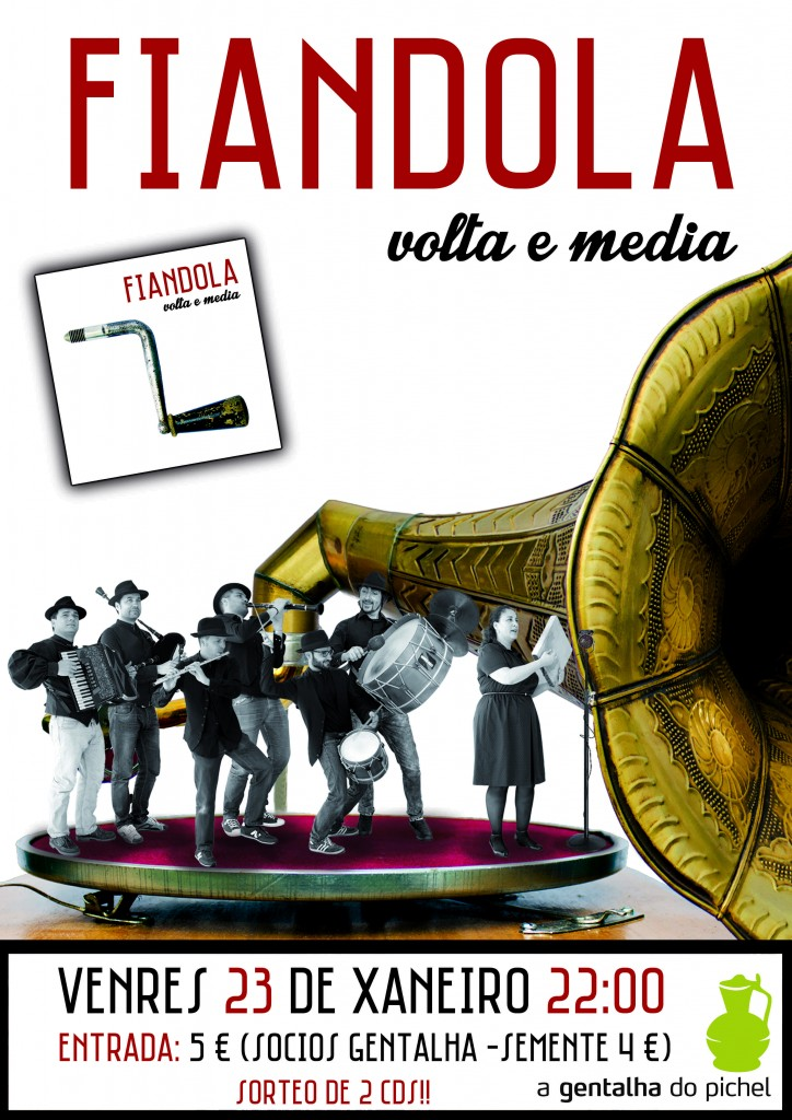 Cartaz Fiandola Volta e media