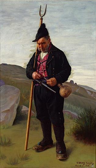 Guerrilleiro galego da Independencia, Vicente Díaz González (1912)