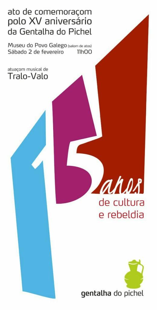cartaz XV aniversário